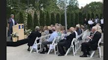 Genuine Parts honors the late Wilton Looney and Larry Prince with a garden