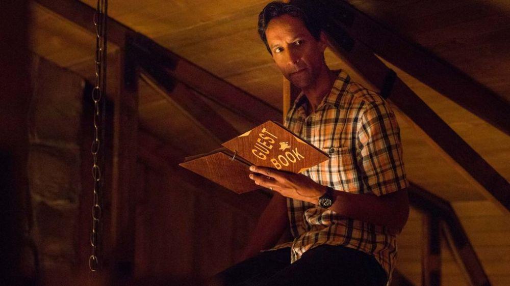 "Danny Pudi in ""The Guest Book."" (Photo: TBS)"
