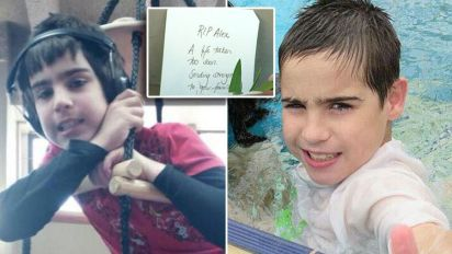 Pictured: Autistic boy, 11, killed in train tragedy
