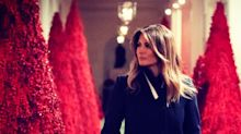 Melania Trump gets ridiculed for White House Christmas decorations for a second year running