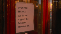 "Indianapolis reacts to Governor Pence's ""Religious Freedom"" push"