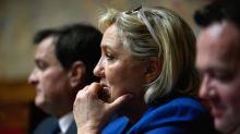 """Marine Le Pen accuse Laurent Wauquiez d'être """"insincère"""""""