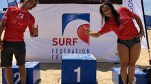 Surf - Coupe de la Fédération - Surf: Kauli Vaast et Johanne Defay remportent la Coupe de la Fédération