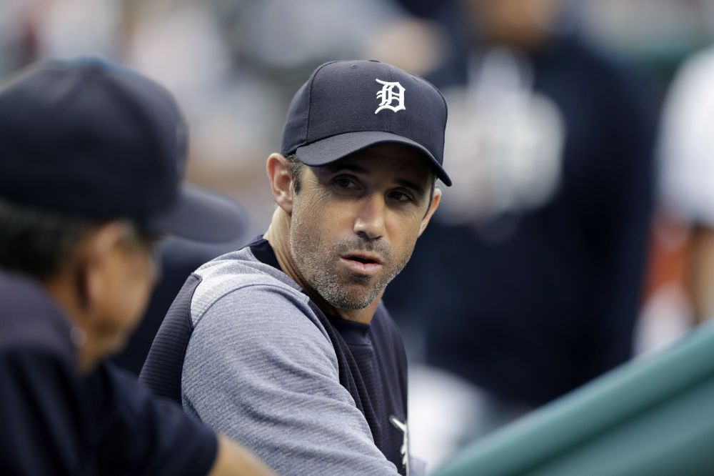 Brad Ausmus won't return as Tigers manager in 2018. (AP)