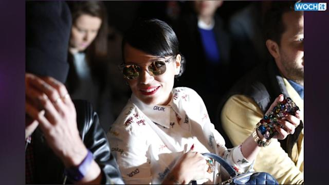 Celebrities Pack Front Row At London Fashion Week
