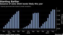 China Accelerates $142 Billion Bond Sale to Boost Economy
