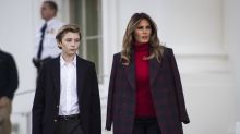 Melania Trump is officially the parent of a teenager