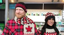 Prince Harry and Meghan Markle wax figures pose around Canada in creepy Instagram account