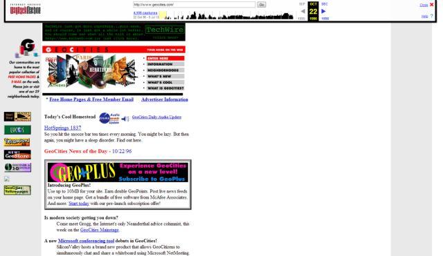 Yahoo Japan is shutting down the last remnants of GeoCities