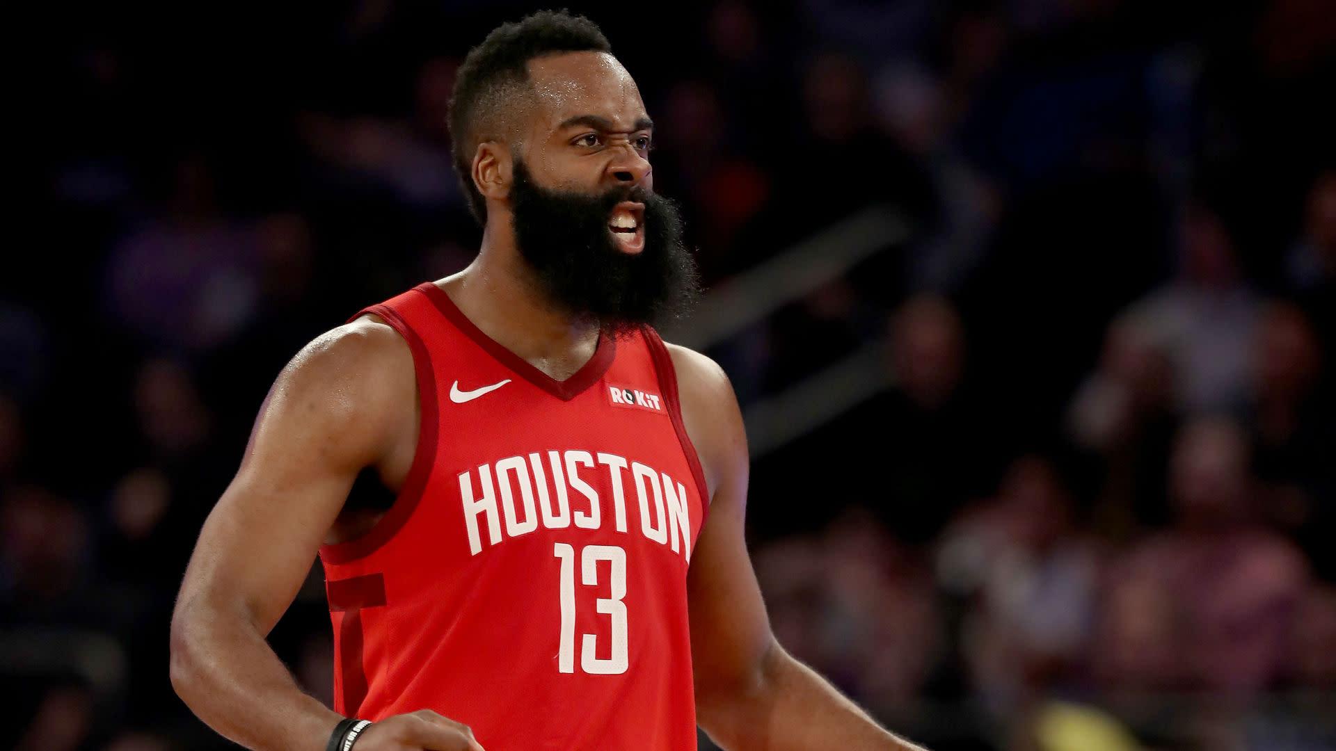 Harden Continues Scoring Form Rockets Top Raptors In Houston