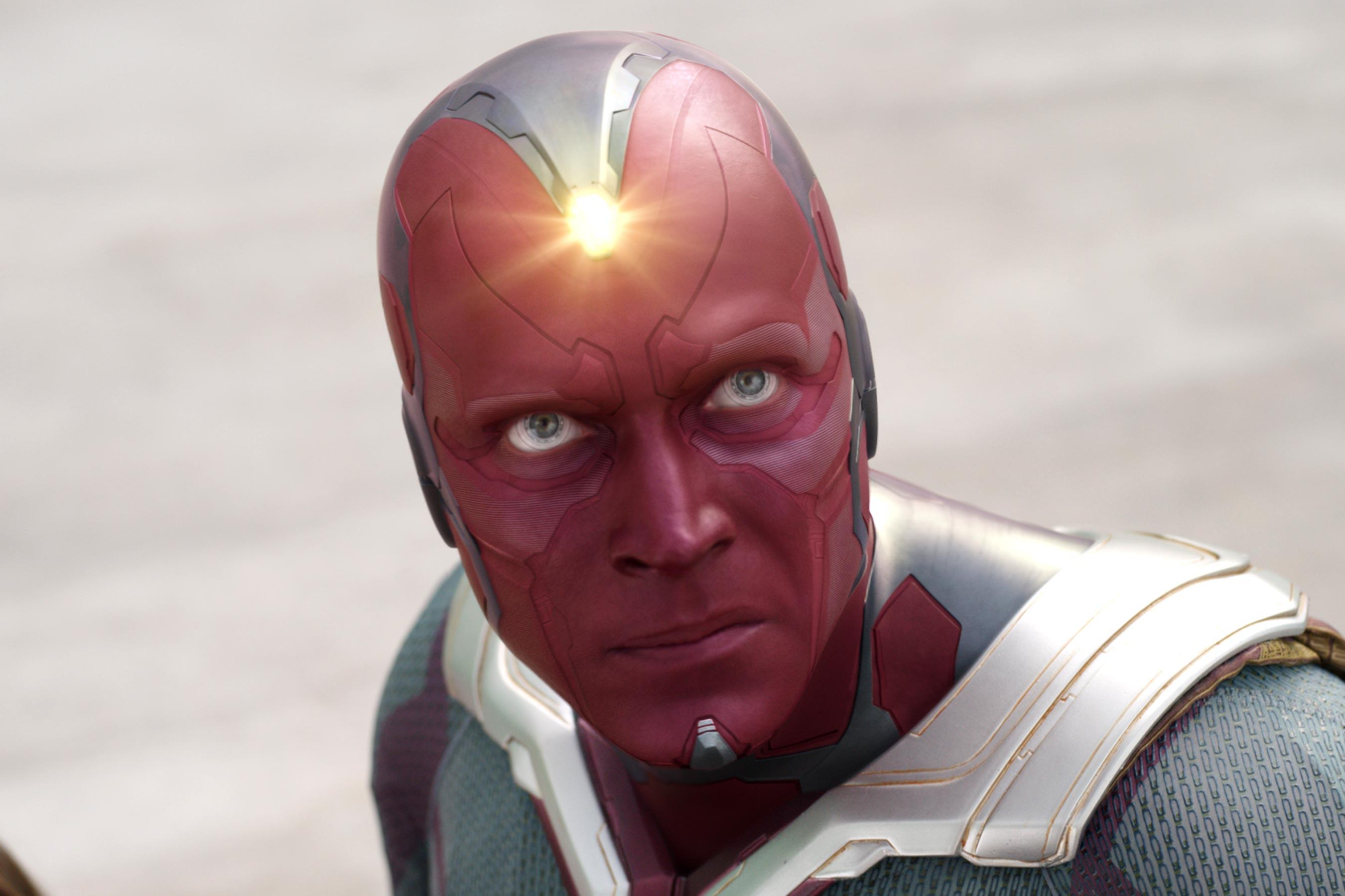 Technically created as a result of Ultron's actions, Vision ends up taking out the final Ultron drone in that showdown. And after Scarlet telekinetically pushed him hundreds of feet underground, Vision gets the ultimate payback: making her fall in love with him!