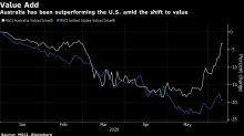 Australia Beats U.S. on Rotation to Value Stocks Buoyed by Banks