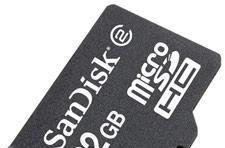 SanDisk's 32GB microSDHC card falls below $100, is actually in stock