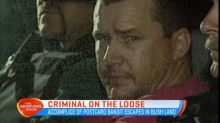Criminal on the loose in Queensland
