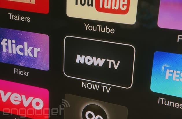 Now TV's movie and entertainment packages finally come to Apple TV