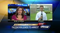 Suspect nabbed thanks to Facebook