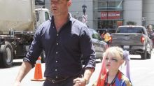 Liev Schreiber took his son to Comic-Con dressed as Harley Quinn