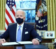What executive actions has President Joe Biden taken?