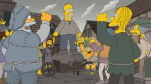 'The Simpsons' Spoof 'Game Of Thrones' In Fantastical Season Premiere