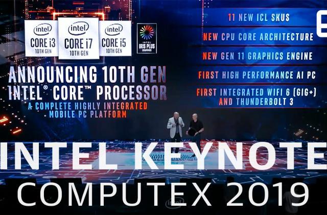 Watch Intel's Computex 2019 keynote in 11 minutes!