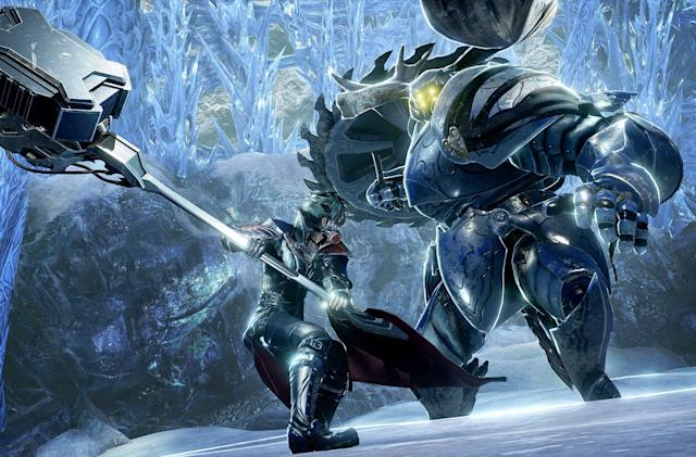 'Dark Souls' and anime merge in 'Code Vein' on September 28th