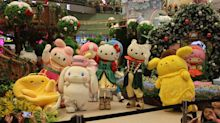 Hello Kitty and Friends take over Changi Airport for Christmas
