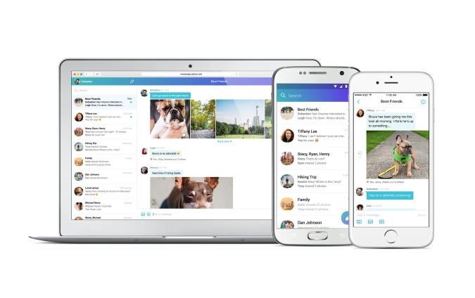 Yahoo attempts to take on Facebook with reimagined Messenger