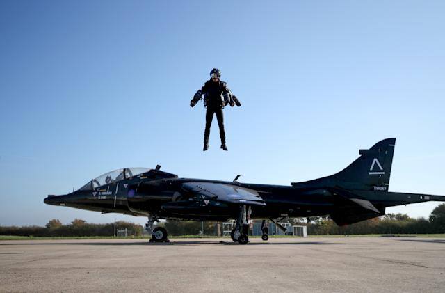 Hitting the Books: How Richard Browning took to the sky like Iron Man
