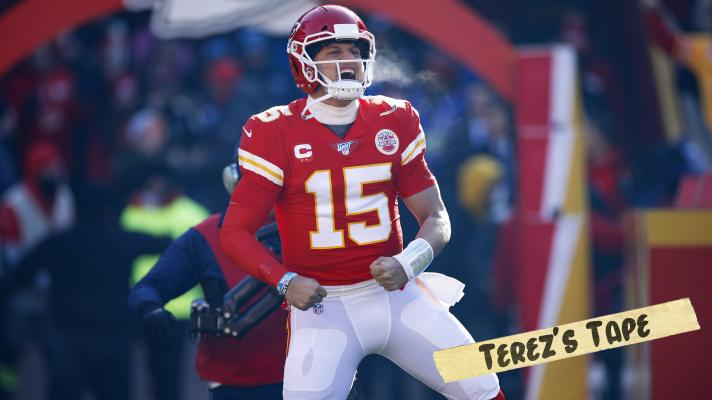 Patrick Mahomes explains how his running ability opens up the Chiefs offense | Terez's Tape
