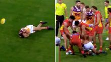 Fiery Lions-Suns feud erupts after ugly late hit