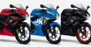 SUZUKI 2021年式「GSX-R125」日規新色上市