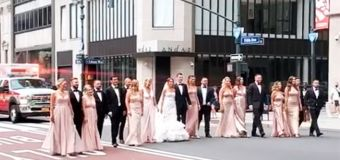 'Appalling' wedding stunt in virus-ridden city