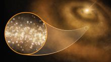Descubren nanodiamantes en el disco de polvo de estrellas jóvenes en nuestra galaxia