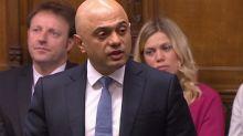 Sajid Javid in stark Commons warning to Boris Johnson over Dominic Cummings and spending