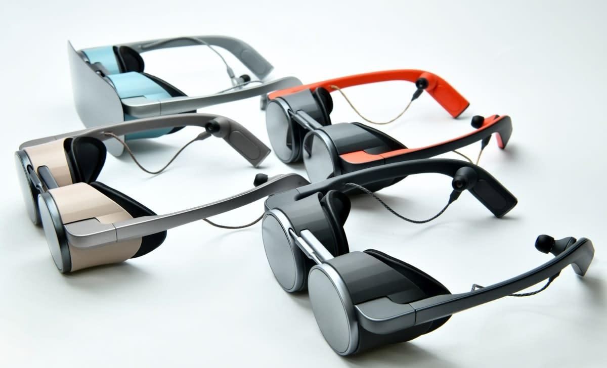Panasonic VR glasses @ CES 2020
