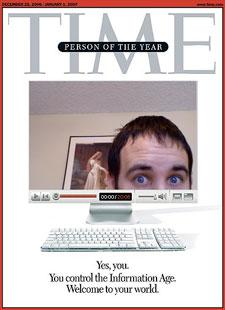 Time Magazine 'Person of the Year' cover redux, courtesy of that iSight trick