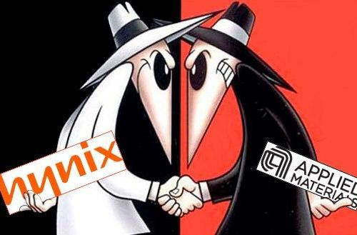 Samsung, Hynix, Applied Materials in corporate espionage shocker!