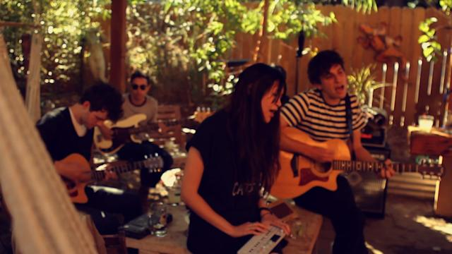 Pains Of Being Pure At Heart: Spotify Big Green Bus Tour Session Spotlight