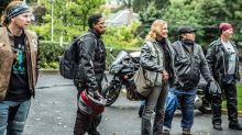 Clube feminino de motociclistas participa de ação para entregar leite materno a bebês que precisam