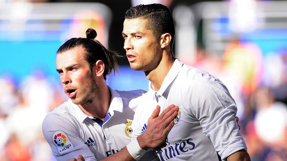 Real Madrid-Man United, Bale titulaire, Ronaldo sur le banc