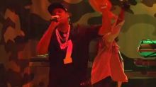 'SNL': Jay-Z Wears Colin Kaepernick Jersey During Musical Performance