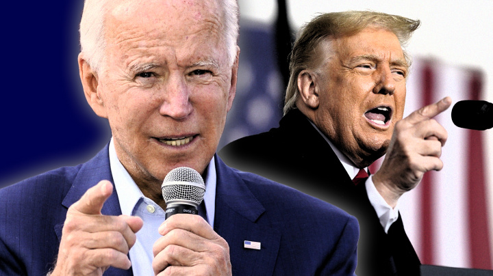 Poll: With a week left, Biden's lead over Trump grows