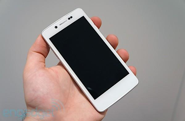 Tianyu K-Touch Treasure V8 hands-on at Mobile World Congress 2012 (video)