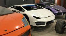 Cerrado un taller clandestino que falsificaba Ferrari y Lamborghini