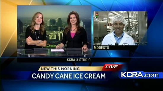 Modesto-based Crystal Creamery cranks out holiday flavors