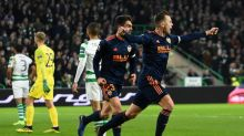 Valencia too strong for Celtic to close on Europa League last 16
