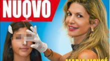 Maria Monsé porta la figlia 14enne a rifarsi il naso e lo mostra in copertina. È polemica