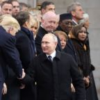 World leaders remember Armistice Day
