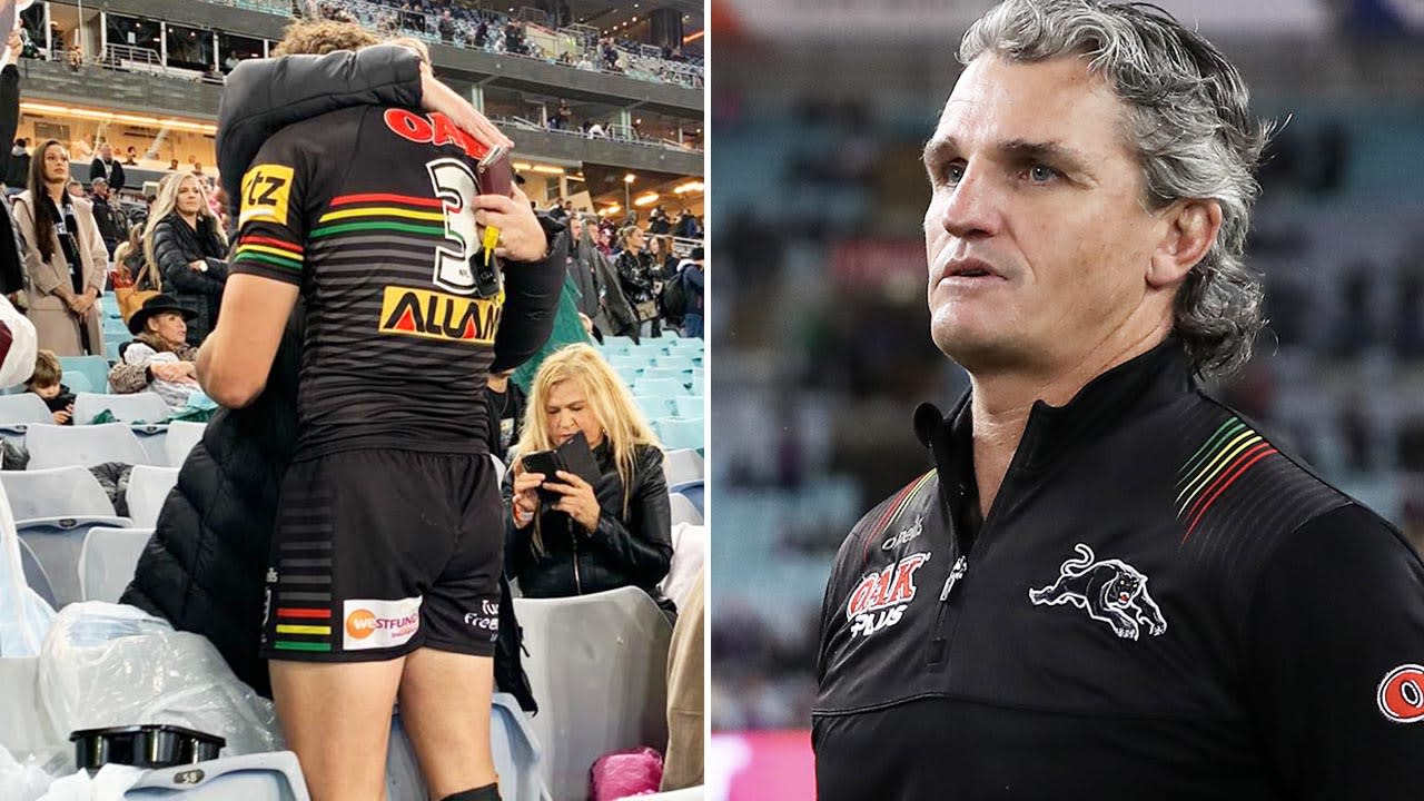 Panthers player in tears after coach's grand final 'stuff up'