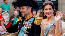 Princess Mary's 'second wedding'